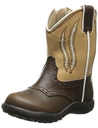 Roper Saddle Up Round Toe Cowboy Boot (Toddler)