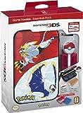 Nintendo 3DS Pokemon Sun & Moon Starter Kit – Solgaleo and Lunala with PokeBall Stylus - Nintendo 3DS