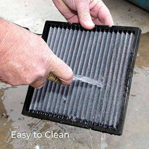 K&N VF1010 Washable & Reusable Cabin Air Filter Cleans and Freshens Incoming Air for your 2011-2016 JEEP Wrangler by K&N (Image #5)