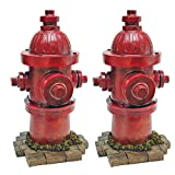 "Design Toscano ""Dog's Best Friend"" Fire Hydrant Statue, Set of Two For Sale"