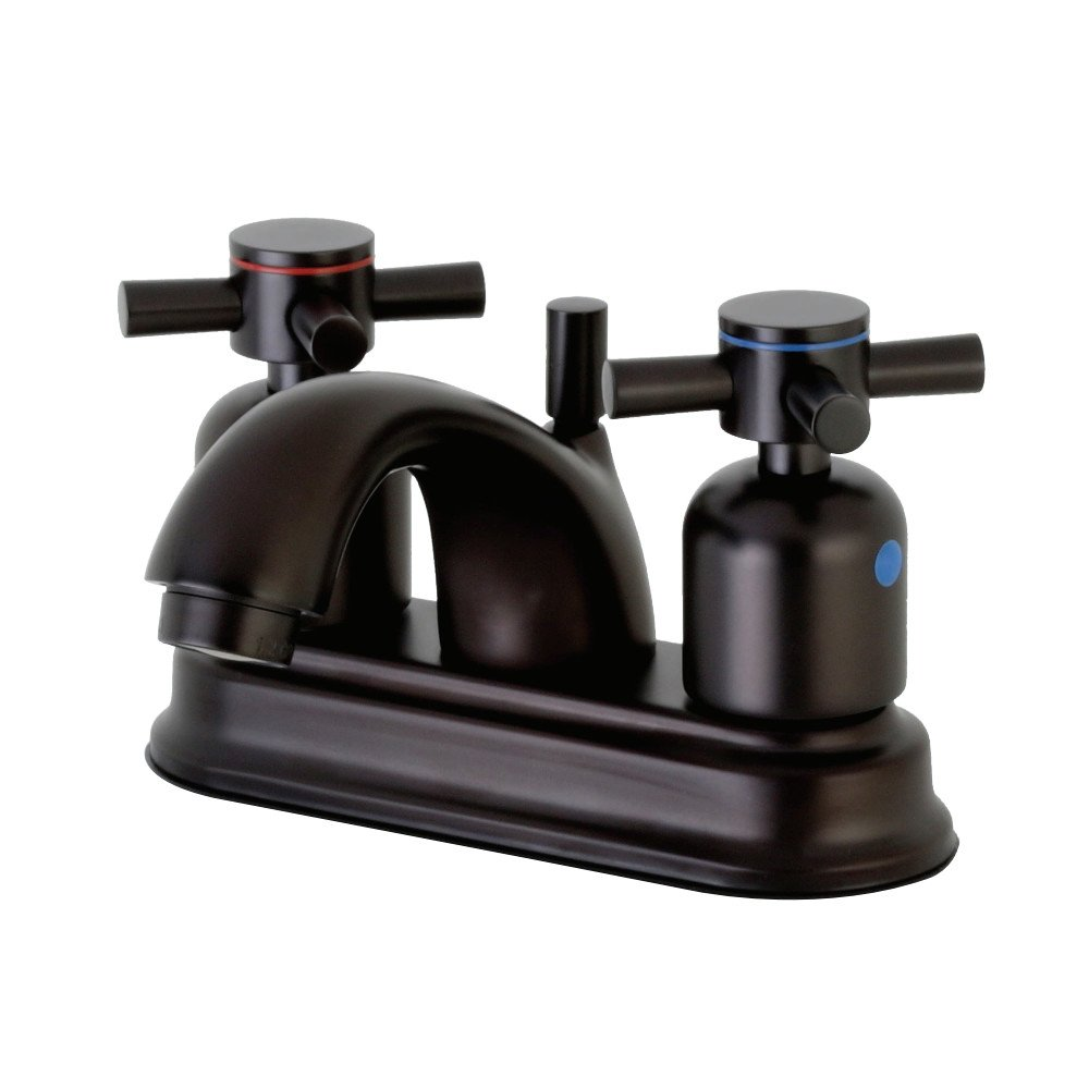 Kingston Brass FB2601DX Concord 4-Inch Center set Lavatory Faucet with Retail Pop-Up Polished Chrome