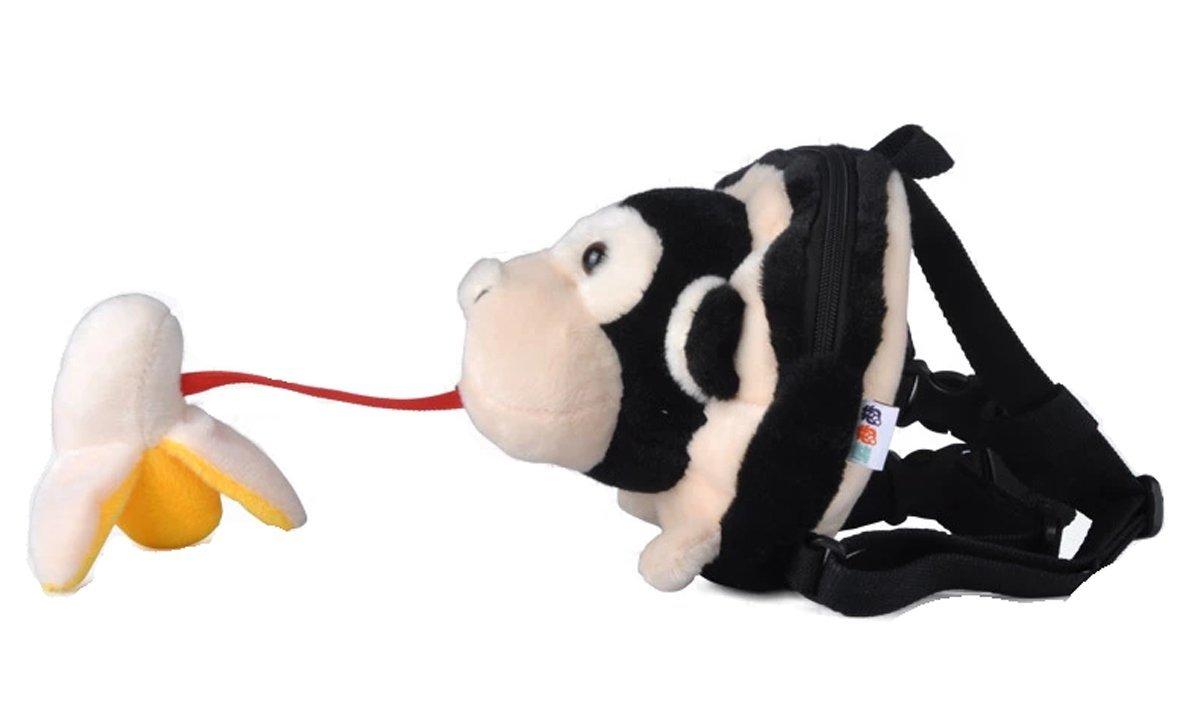 Amazon.com : Animal Bebamour 2 en 1 Arnés Kid Mochilas bolso de escuela, mono : Baby