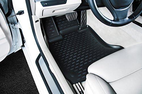 Element Exp Cartyt00021 Passgenaue Premium Antirutsch Gummi Fußmatten Toyota Hilux Jahr 15 20 Schwarz Auto