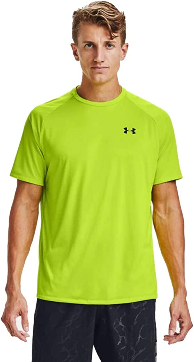 Ajustamiento Autónomo caja de cartón  Amazon.com: Under Armour Men's Tech 2.0 Short Sleeve T-Shirt: Clothing