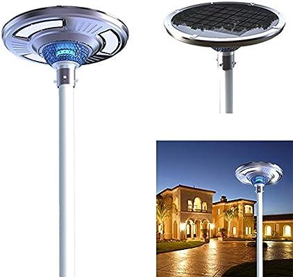 eLEDing Solar Power SMART LED Street Light for Commercial and Residential Lots,