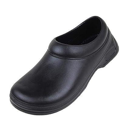 nuevo concepto 44c60 4524f Fityle Zapatos De Zuecos Sin Tirantes Resistentes Al ...