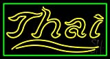 Thai Clear Backing Neon Sign 20'' Tall x 37'' Wide