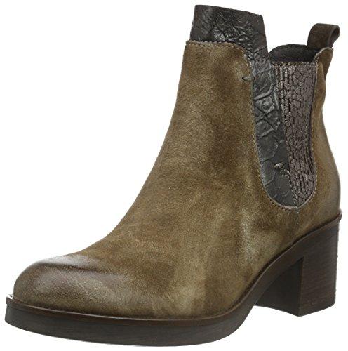 Mjus 164204-0101-0002, Zapatillas de Estar por Casa para Mujer Marrón - Braun (ecru+pepe)