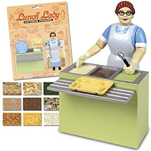 Accoutrements Lunch Lady Action Figure
