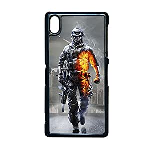Generic Kawaii Back Phone Cover For Boy Custom Design With Battlefield 4 For Sony Z2 Choose Design 6