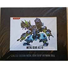 Limited Edition 'Metal Gear Acid 2' Artwork Cell