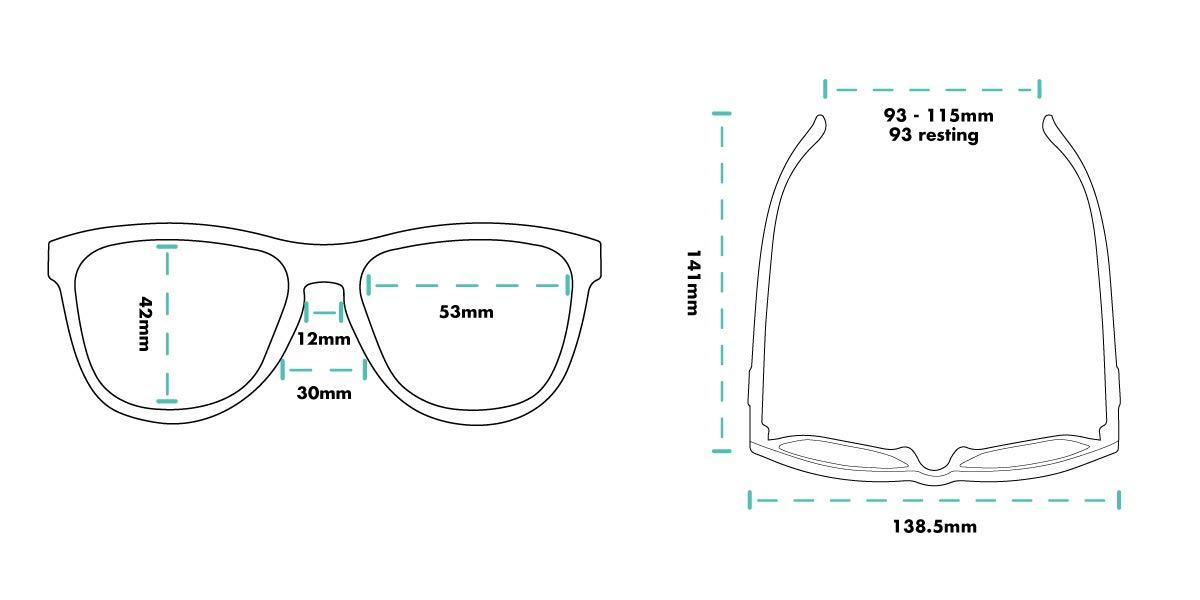 df80ed1dc Óculos de Sol Goodr - Maybe the Dino Ate your Baby?: Amazon.com.br:  Esportes e Aventura