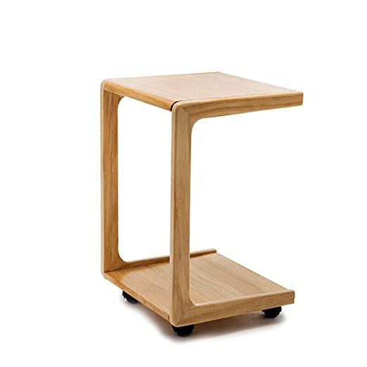 Ajustable en forma de U Pequeña mesa de centro Bandeja para ...