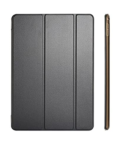 iPad Air 2 Case Cover, Dyasge Smart Case Cover with Magnetic Auto Wake & Sleep Feature and Tri-fold Stand for iPad Air 2 (iPad 6) (Ipad 2 Air Magnetic Cover)