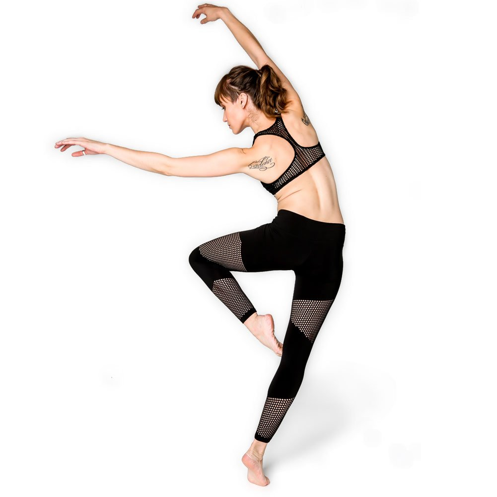 a5f01cd664b1b Amazon.com: YOGA DESIGN LAB Laser Cut Leggings by Luxury Yoga Pants  Redefined | Designed In Bali | Ideal For Yoga, Hot/Bikram, Barre, and  Active Workouts ...