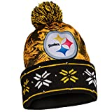 NFL Big Logo Light Up Printed Beanie Knit Cap