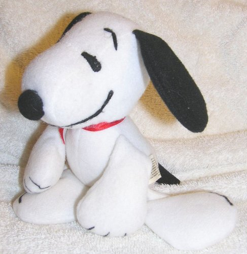 "Peanuts 5"" Snoopy Poseable Bean Bag Doll"
