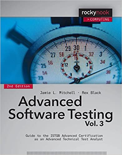Book Advanced Software Testing - Vol. 3, 2nd Edition: Guide to the ISTQB Advanced Certification as an Advanced Technical Test Analyst by Jamie L Mitchell (30-Mar-2015)