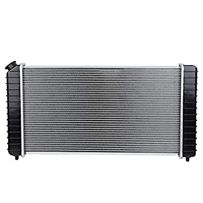 DNA Motoring OEM-RA-1826 Aluminum Radiator [For 96-05 Chevy Blazer/GMC Jimmy AT]: Automotive