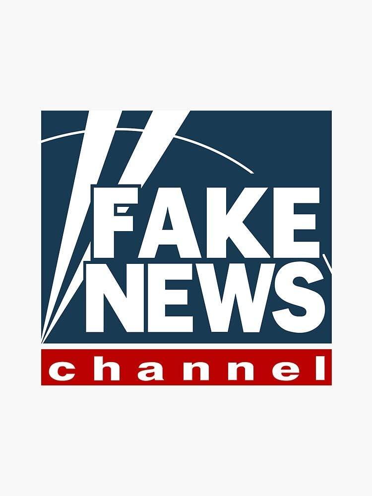 Fox News is Fake News Vinyl Decal Bumper Sticker Wall Laptop Window Sticker 5