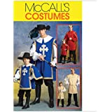 McCall's Patterns M5214 Men's/Children's/Boys' Musketeer and Prince Costumes, Size MEN (SML-MED-LRG-XLG)