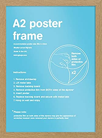 50x70 cm GB eye LTD 50x70cm-Eton Oak Frame-50 x 70cm Wood
