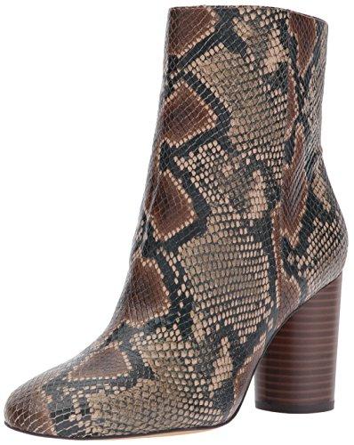 Sam Edelman Women's Corra Ankle Boot Brown/Multi Snake Print