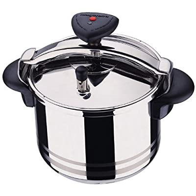 Star R Stainless Steel 4 Quart Fast Pressure Cooker by Magefesa