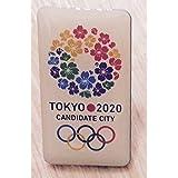 2020 東京オリンピック 招致 ピンバッジ 四角タイプ 桜のリース デザイン 東京五輪