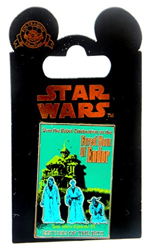 - Disney Park Pin Star Wars Haunted Mansion Forest Moon of Endor