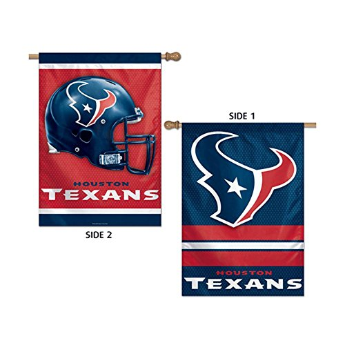 Wincraft NFL Houston Texans 24860013 2 Sided Vertical Flag, 28