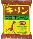 小笠原製粉 キリンラーメン みそ味 90g×12袋