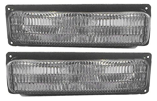 Marker Signal Blinker Corner Parking Light Lamp Pair Set for 96-02 Chevy Van