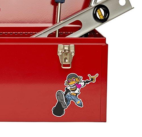 2 x Skate Monkey Travel Vinyl Sticker Laptop Travel Luggage #4247