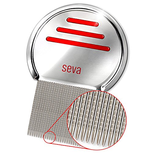 Professional Lice Comb - Nit Comb - Best Value - Stainless Steel - Reusable - Lice (Nit Comb)