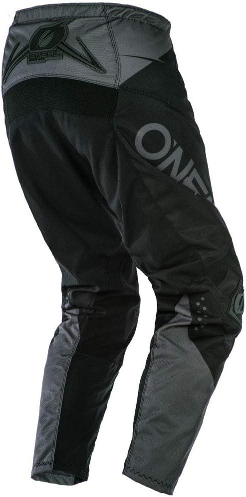 Pants W38 // Jersey XX-Large ONeal Element Racewear Black//Gray Adult motocross MX off-road dirt bike Jersey Pants combo riding gear set
