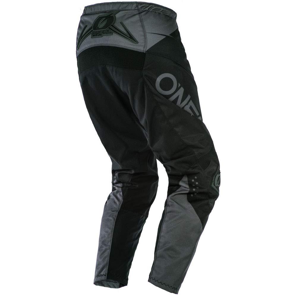 ONeal Element Racewear Black//Gray Adult motocross MX off-road dirt bike Jersey Pants combo riding gear set Pants W36 // Jersey X-Large