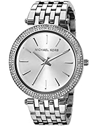 Michael Kors Womens Darci Silver-Tone Watch MK3190