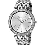 Michael Kors Women's Darci Silver-Tone Watch MK3190