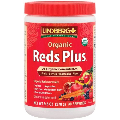 Lindberg Organic Reds Plus, 9.5 Ounces