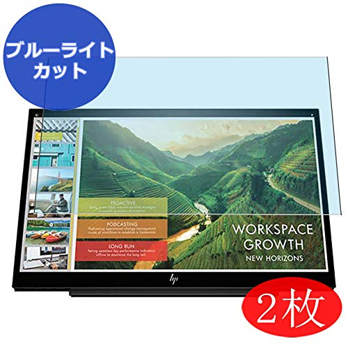 - 【2 Pack】 Synvy Anti Blue Light Screen Protector for HP Business S14 3HX46AA#AC3 Display Monitor 14