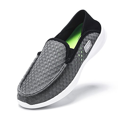 Walking Shoe Herren Go Walk Slip-On Feder 5 Leichtes Design Grau