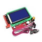 [3D CAM] Full Graphic Smart Controller LCD Display for RAMPS 1.4 RepRap 3D Printer Electronics (128 x 64 display with SD card reader)