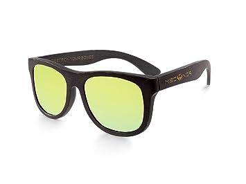 Gafas de sol de bambú MOSCA NEGRA modelo BLACK BAMBOO and ...