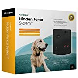 Advanced Electric Dog Fence and Pet Containment System - by Sit Boo Boo - 20 Acre Range inc. 500foot Solid Copper Boundary Wire, 100% Waterproof and Rechargeable, Beep/Vibration/Shock, 8-100 lbs