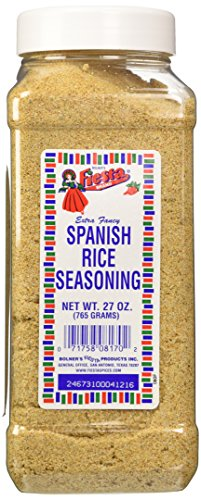 Bolner's Fiesta Extra Fancy Spanish Rice Seasoning, 27 (Fiesta Rice)