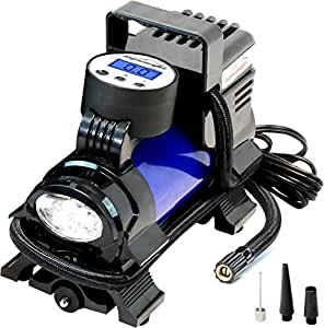 Amazon.com: EPAuto 12V-DC Portable Air Compressor Pump