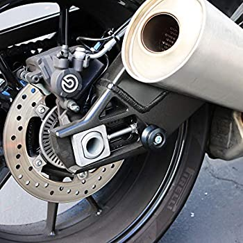 Shogun 701-0309 Honda Suzuki Shogun Swingarm Spools Black MADE IN THE USA