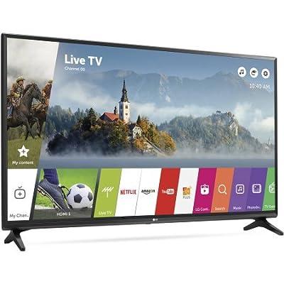 "LG 49LJ5500 LED 1080p 60 Hz Full HD Smart TV, 49"" (Certified Refurbished)"