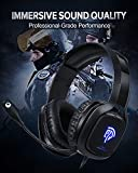EasySMX Gaming Headset for Xbox One S, X, PS4, PC